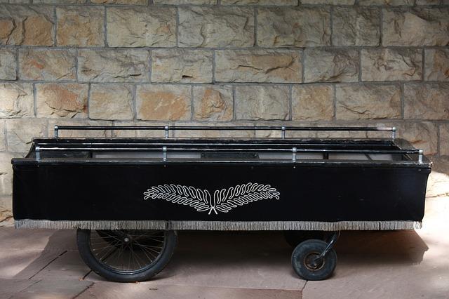 pohřební vozík