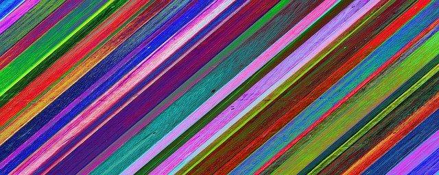 barevné pruhy