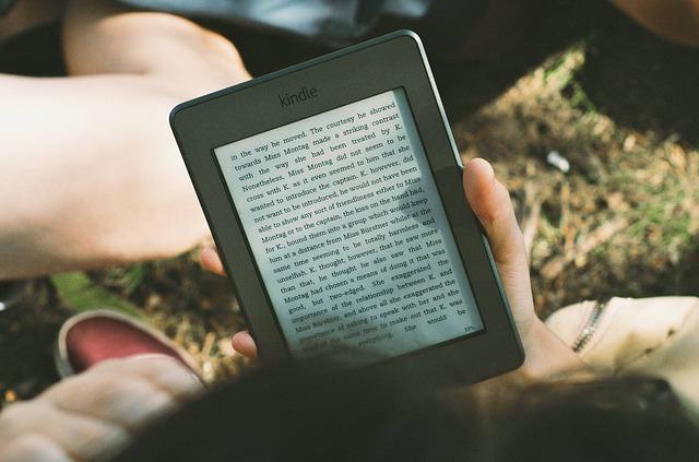 čtení z ebooku