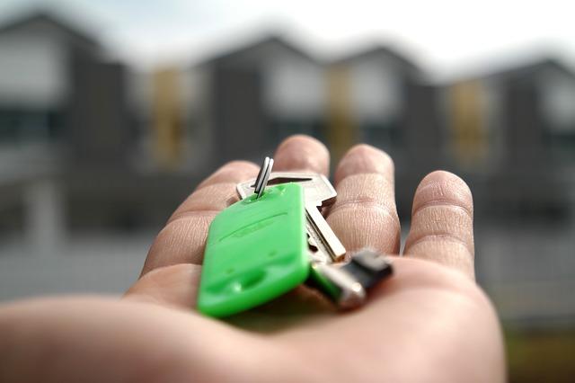 klíč od domova
