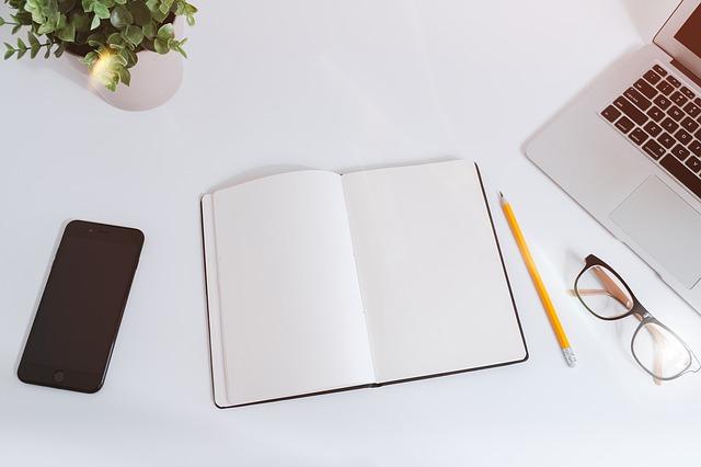 čistý zápisník
