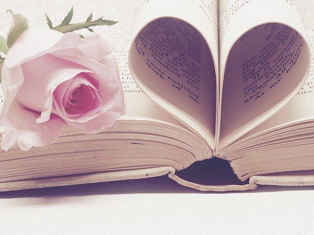 kniha a růže