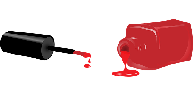 červený lak