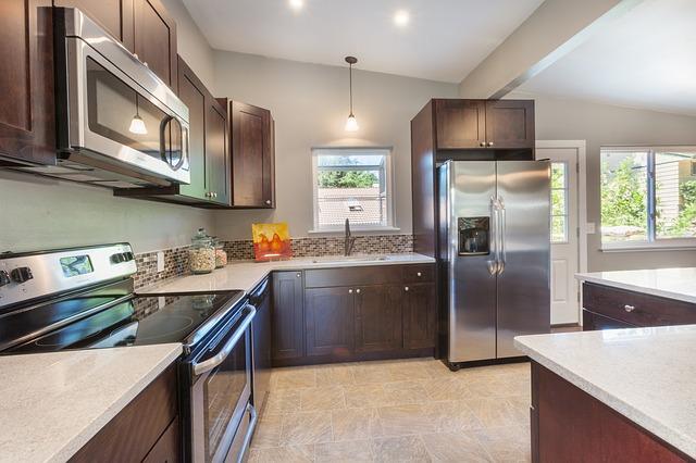 kuchyně s atypickými tvary