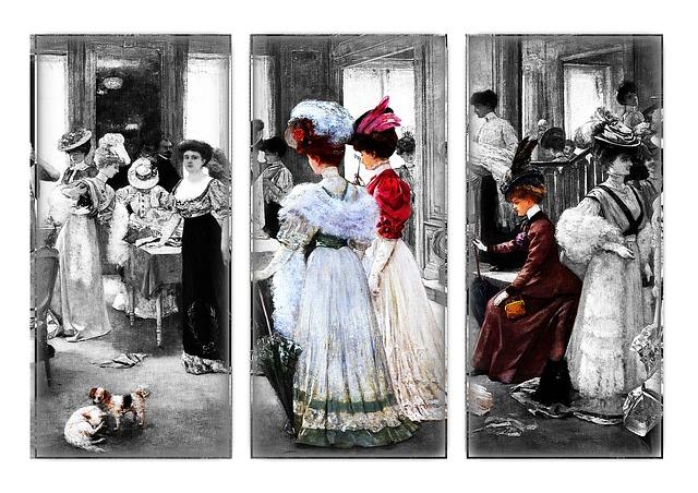 móda začátku dvacátého století